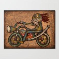 My Harley Canvas Print
