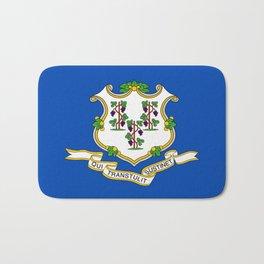 Connecticut State Flag Bath Mat