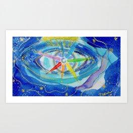 Sparkle Eye Art Print