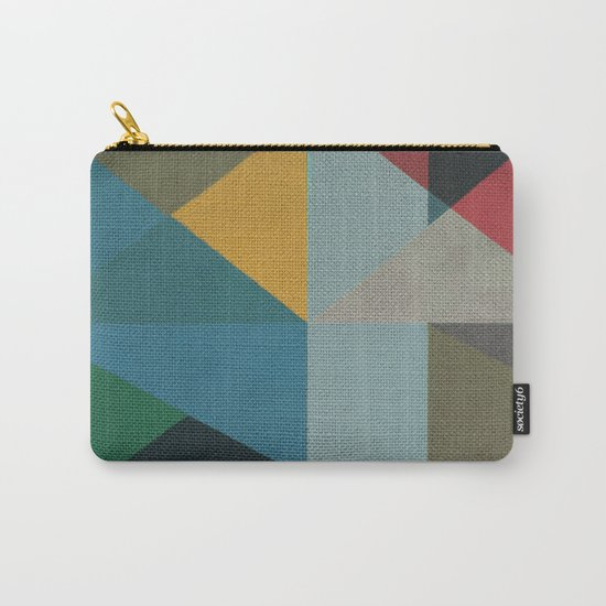 Geometric Thoughts 6 Carry-All Pouch
