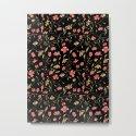 Dark Floral Pattern by aljahorvat