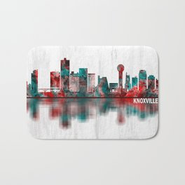 Knoxville Tennessee Skyline Bath Mat