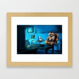 Regular Animals Framed Art Print