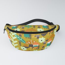 Autumn gnome garden Fanny Pack