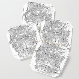 Minimal City Maps - Map Of Las Vegas, Nevada, United States Coaster