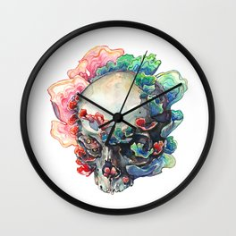 Trametes Versicolor Wall Clock