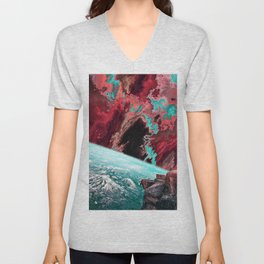 To The Ends Of The Earth Unisex V-Neck