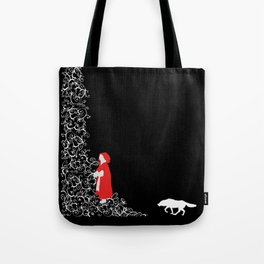 Little Red - Dark Tote Bag