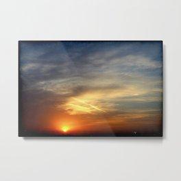 Sunrise 041017 Weatherford, Texas Metal Print