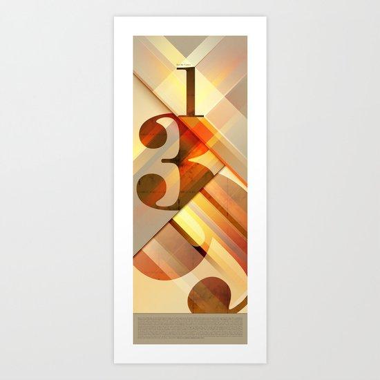 1,3,9 for the Gauss Art Print