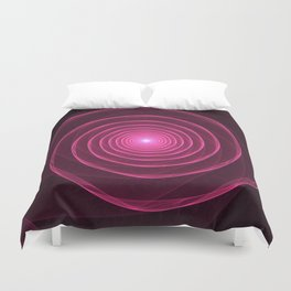 Rows of a Rose Duvet Cover