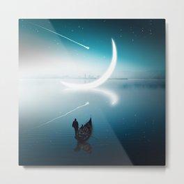 Close to the moon Metal Print