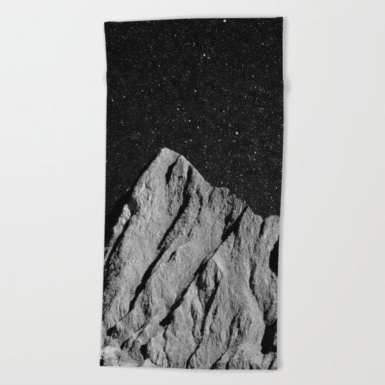 interstellar landscape Beach Towel