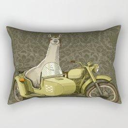 Sidecar Llama Rectangular Pillow