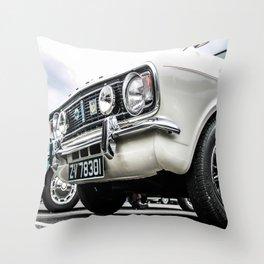 Vintage Cortina Throw Pillow