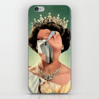 queen iPhone & iPod Skins featuring Queen by Victoria Ulrikke Iles