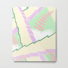 AGONDA Art Deco Modern: SWEET NOTHINGS Metal Print