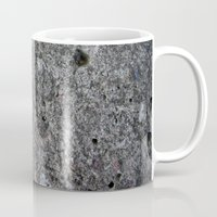 concrete Mugs featuring concrete by Seed Margarita