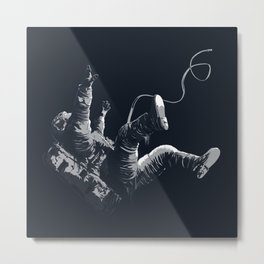 Astronaut - Death By Black Hole Metal Print