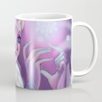 frozen elsa Mugs featuring Elsa by Red Red Telephone