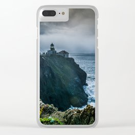 Light in the Storm Clear iPhone Case