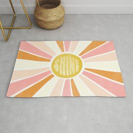 sundial shine Rug