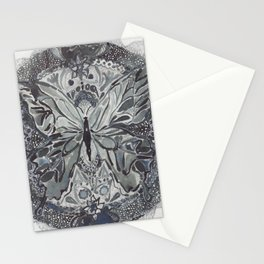 Butterfly lace Stationery Cards