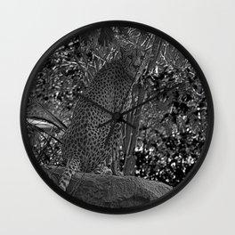 Leopard - Indonesia Wall Clock