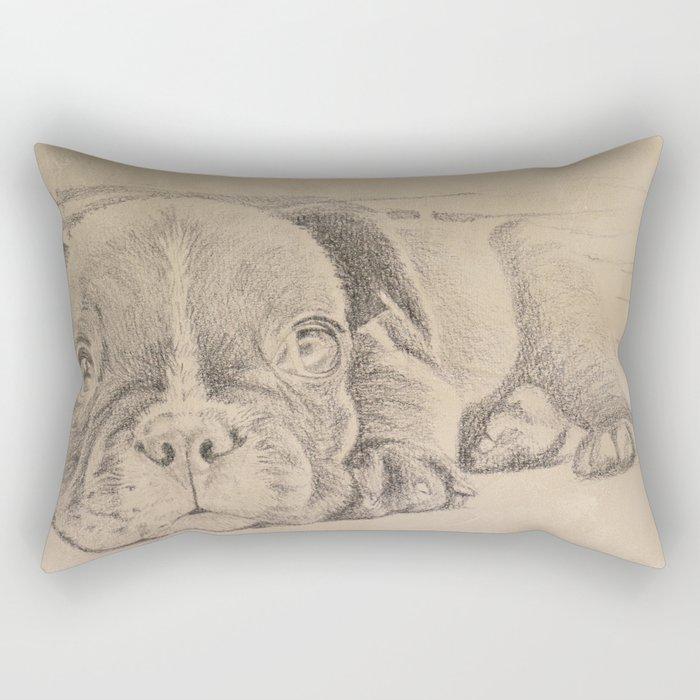 sweet puppy Rectangular Pillow