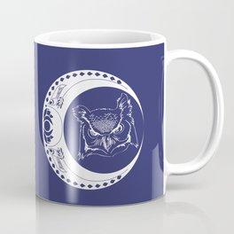 Owl and Moon Coffee Mug