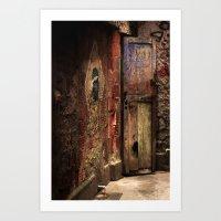 door Art Prints featuring Door by Studio Laura Campanella