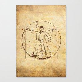VI-GROOVIAN MAN Canvas Print