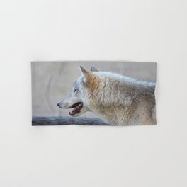 Wolf Profile Hand & Bath Towel