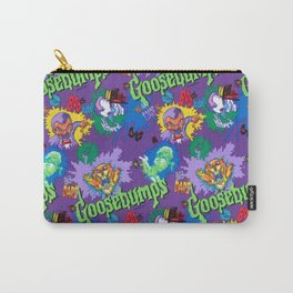 Vintage 90's Pattern Carry-All Pouch