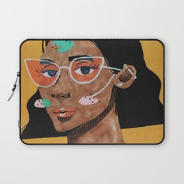 Current fashion girl Laptop Sleeve