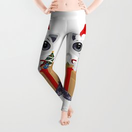 Christmas - Kitten Leggings
