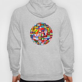 Flag World Hoody