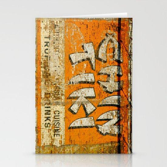 Chin Tiki Wall  Stationery Cards