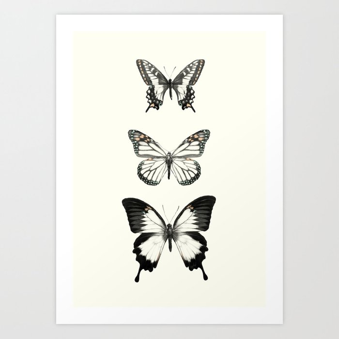 Discover the motif BUTTERFLIES // ALIGN by Amy Hamilton as a print at TOPPOSTER