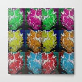 Frogfish collage Metal Print