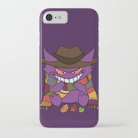 gengar iPhone & iPod Cases featuring Gengar Who? by Cat Vickers-Claesens