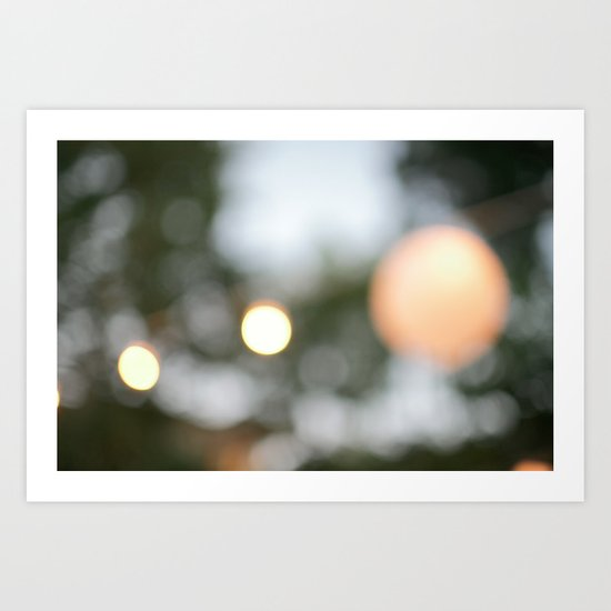 Summer Night Art Print
