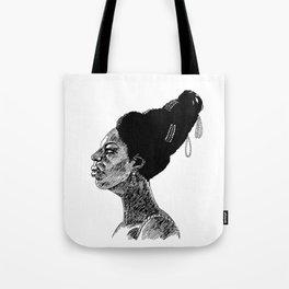 Nina Simone Tote Bag