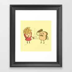 The French Connection Framed Art Print