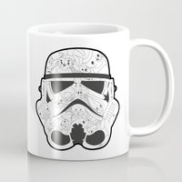 stormtrooper Mugs featuring Stormtrooper by Santos