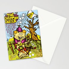 The Champion slugger Stationery Cards