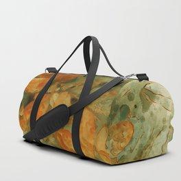 Autumn Yellow Branch Watercolor Duffle Bag