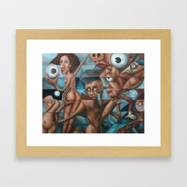 All The Wonderful Toys 2 Framed Art Print