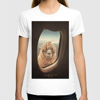 iris T-shirts featuring QUÈ PASA? by Monika Strigel