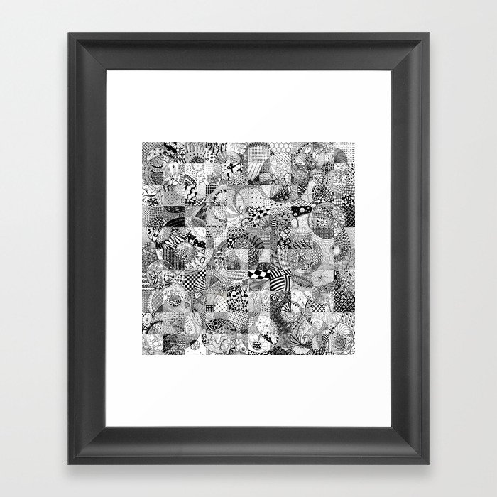 Bubbles! Framed Art Print